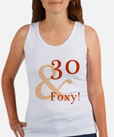 Foxy 30th Birthday Women's Tank Top