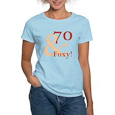 Foxy 70th Birthday T-Shirt
