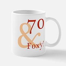 Foxy 70th Birthday Mug