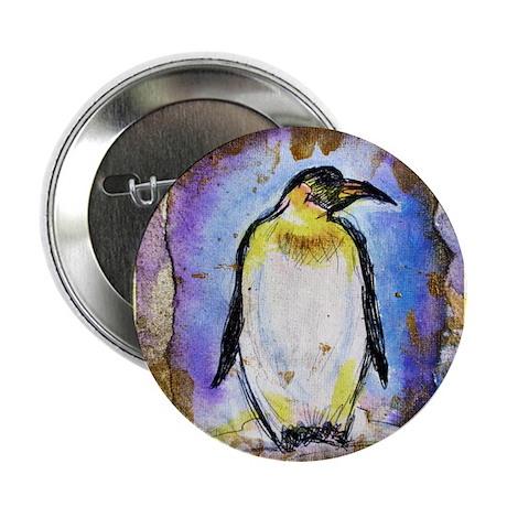 "Penguin, colorful, Penguin, 2.25"" Button (100 pack"