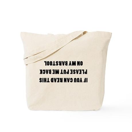 Bar Stools Tote Bag
