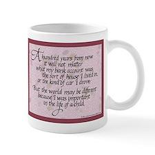 100 Years, Mauve - Mug