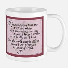 100 Years, Mauve - Small Small Mug