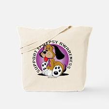 Epilepsy Dog Tote Bag