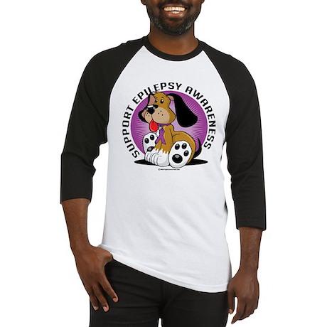Epilepsy Dog Baseball Jersey