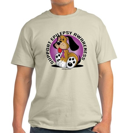 Epilepsy Dog Light T-Shirt