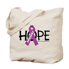Epilepsy Hope Tote Bag