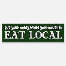 Local Money - Sticker (Bumper)