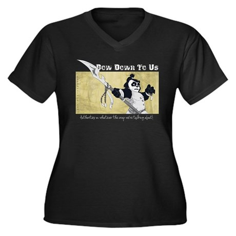 BDTU-T-Shirt-NoBlack Plus Size T-Shirt