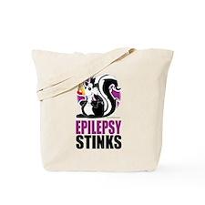 Epilepsy Stinks Tote Bag