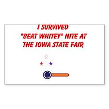Cute Iowa state fair Decal