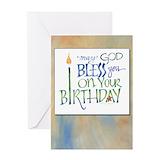 Birthday blessing Stationery