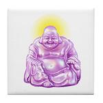 HAPPY BUDDHA Tile Coaster