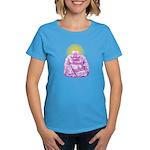HAPPY BUDDHA Women's Dark T-Shirt