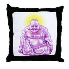HAPPY BUDDHA Throw Pillow