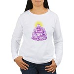 HAPPY BUDDHA Women's Long Sleeve T-Shirt