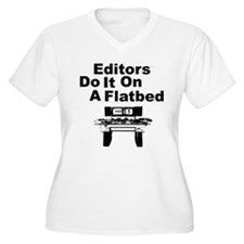 Editors Do it on a Flatbed T-Shirt