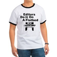 Editors Do it on a Flatbed T