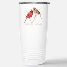 Cardinal pair Stainless Steel Travel Mug
