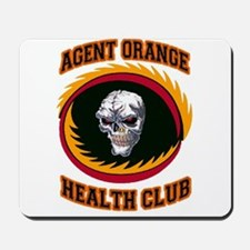 AGENT ORANGE HEALTH CLUB Mousepad