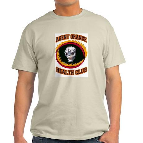 AGENT ORANGE HEALTH CLUB Light T-Shirt