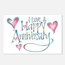 Happy Anniversary Postcards (Package of 8)