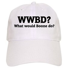 What would Boone do? Baseball Cap