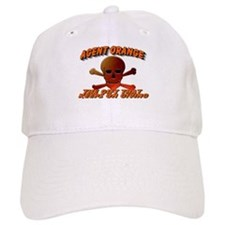 AGENT ORANGE SKULL Baseball Cap