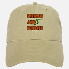 SPRAYED AND BETRAYED Baseball Baseball Cap