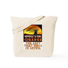 AGENT ORANGE SUNSET Tote Bag