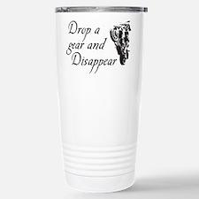 DROP A GEAR DISAPPEAR Travel Mug