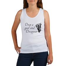 DROP A GEAR DISAPPEAR Women's Tank Top