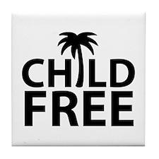 Childfree Tile Coaster