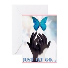 JUST LET GO Greeting Cards (Pk of 10)