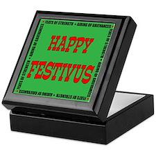 Happy Festivus Keepsake Box