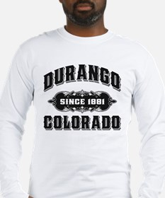 Durango Since 1881 Black Long Sleeve T-Shirt