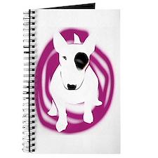 English Bull Terrier dog Journal