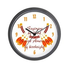 """Saginaw"" Wall Clock"