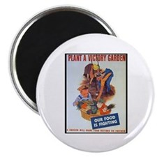 """Plant a Victory Garden 2.25"""" Magnet (10 pack)"""