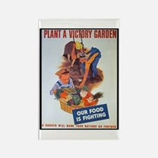 Plant a Victory Garden Rectangle Magnet