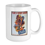 Plant a Victory Garden Large Mug