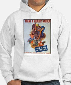 Plant a Victory Garden (Front) Hoodie