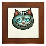Cheshire Cat Framed Tile