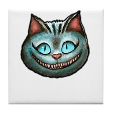 Cheshire Cat Tile Coaster