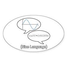 Sine Language Decal