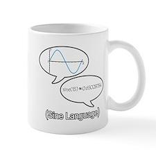 Sine Language Mug