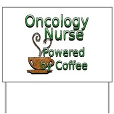 Cute Rn oncology Yard Sign