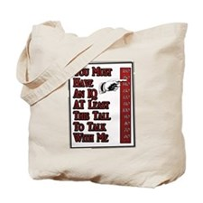 Tall IQ Tote Bag