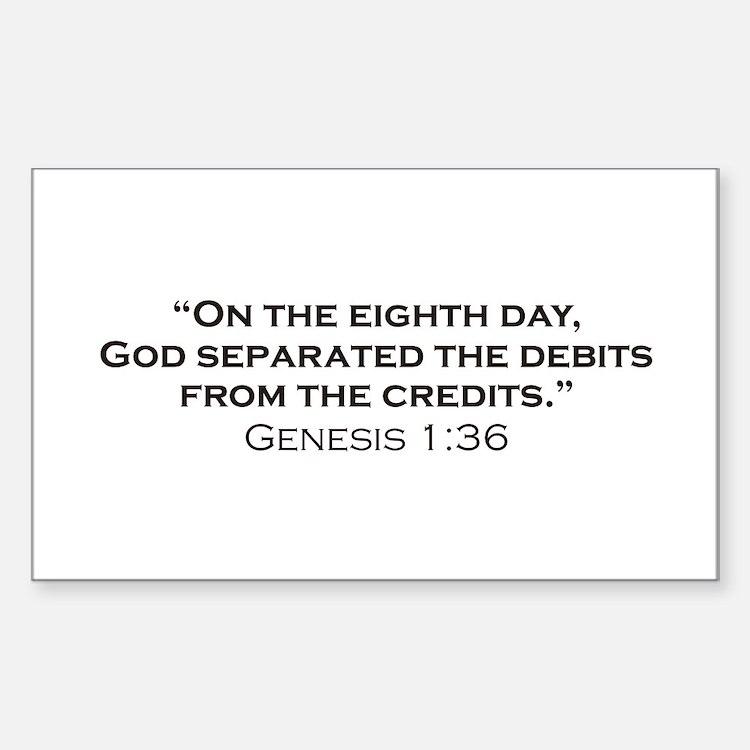 Debits / Genesis Decal