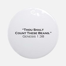 Beans / Genesis Ornament (Round)